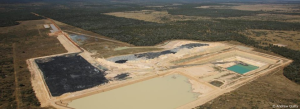 Galilee Basin coal test pit